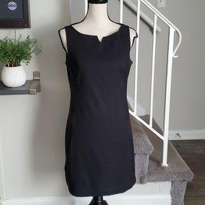Vintage Rampage Notch Neck Sleeveless Sheath Dress